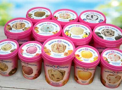 Ведёрко мороженого Baskin Robbins
