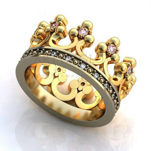 кольцо - корона
