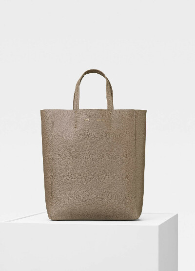 Celine Small Cabas in grained calfskin