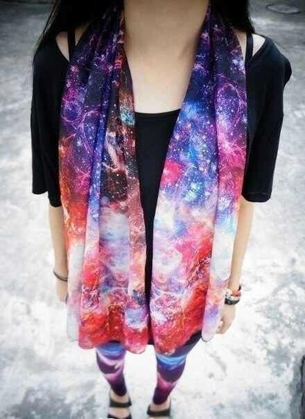 Космический шарф