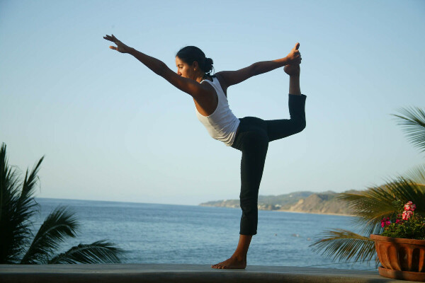 Посетить занятие по йоге