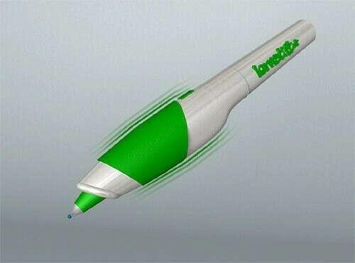 «Lernstift» — это вибрирующая ручка, которая дает пользователям знать, когда они сделали орфографическую ошибку.