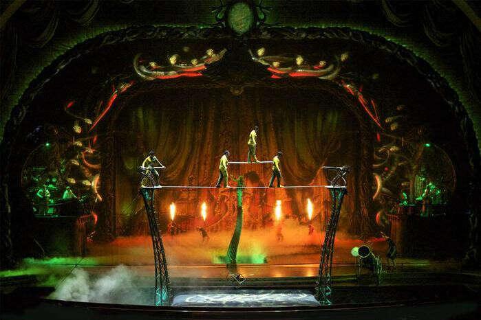 Посетить цирк Дю Солей