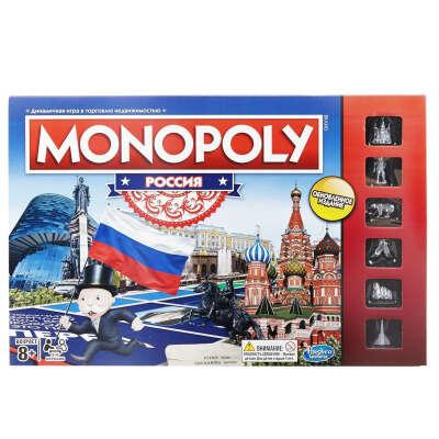 Hasbro Games Настольная игра Монополия Россия