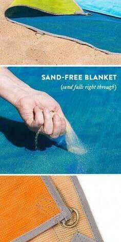 Sand-free blanket