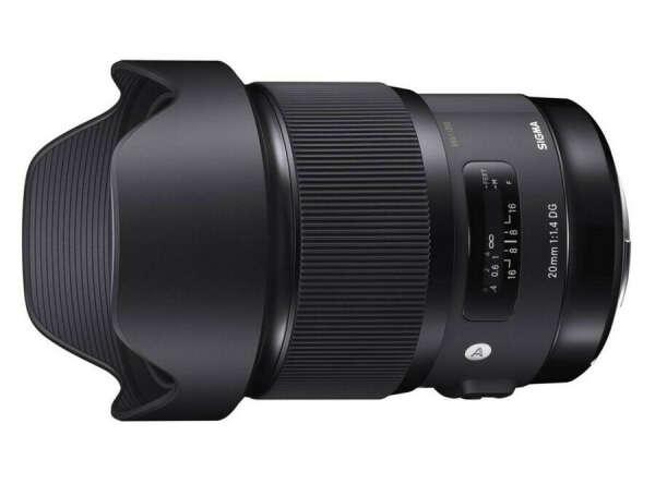 объектив Sigma 20mm F1.4 DG HSM | Art Canon EF