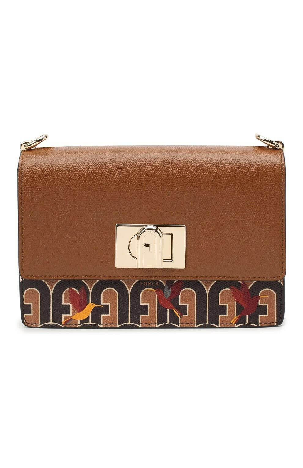 Женская коричневая сумка furla 1927 small FURLA — купить за 26500 руб. в интернет-магазине ЦУМ, арт. BAFKACO/A.0067