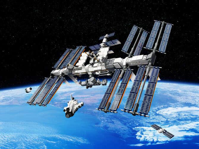 Конструктор Ideas (Айдиас) 21321 Международная Космическая Станция LEGO