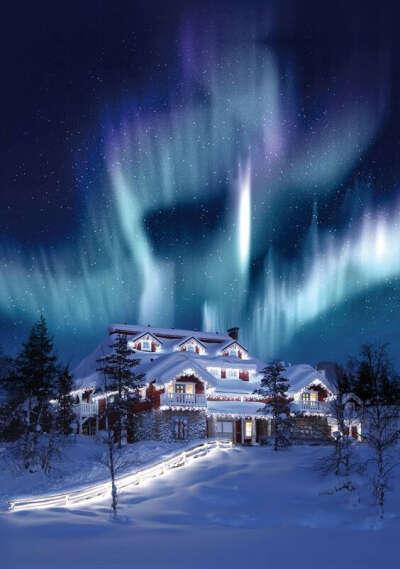 Посетить Финляндию зимой