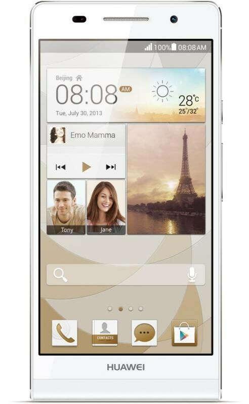 Huawei Ascend P6(желтый)