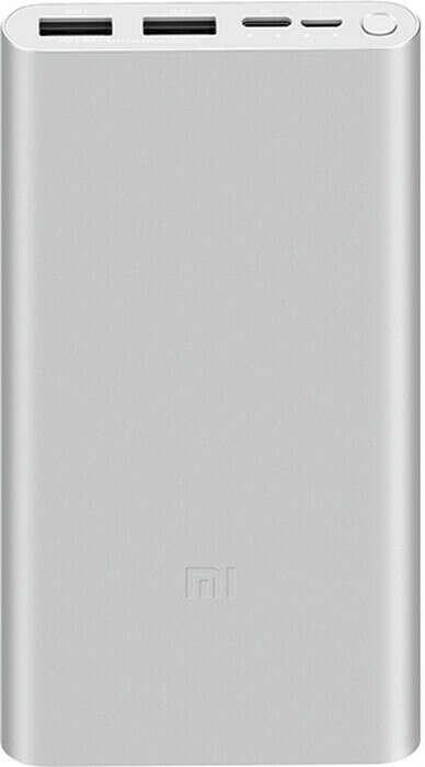 ий аккумулятор Xiaomi Mi Power Bank 3 Fast Charge, microUSB, USB Type-C, USB-A x2