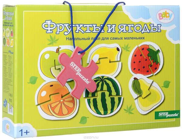 Step Puzzle Пазл для малышей Фрукты и ягоды 6 в 1 — купить в интернет-магазине OZON.ru с быстрой доставкой
