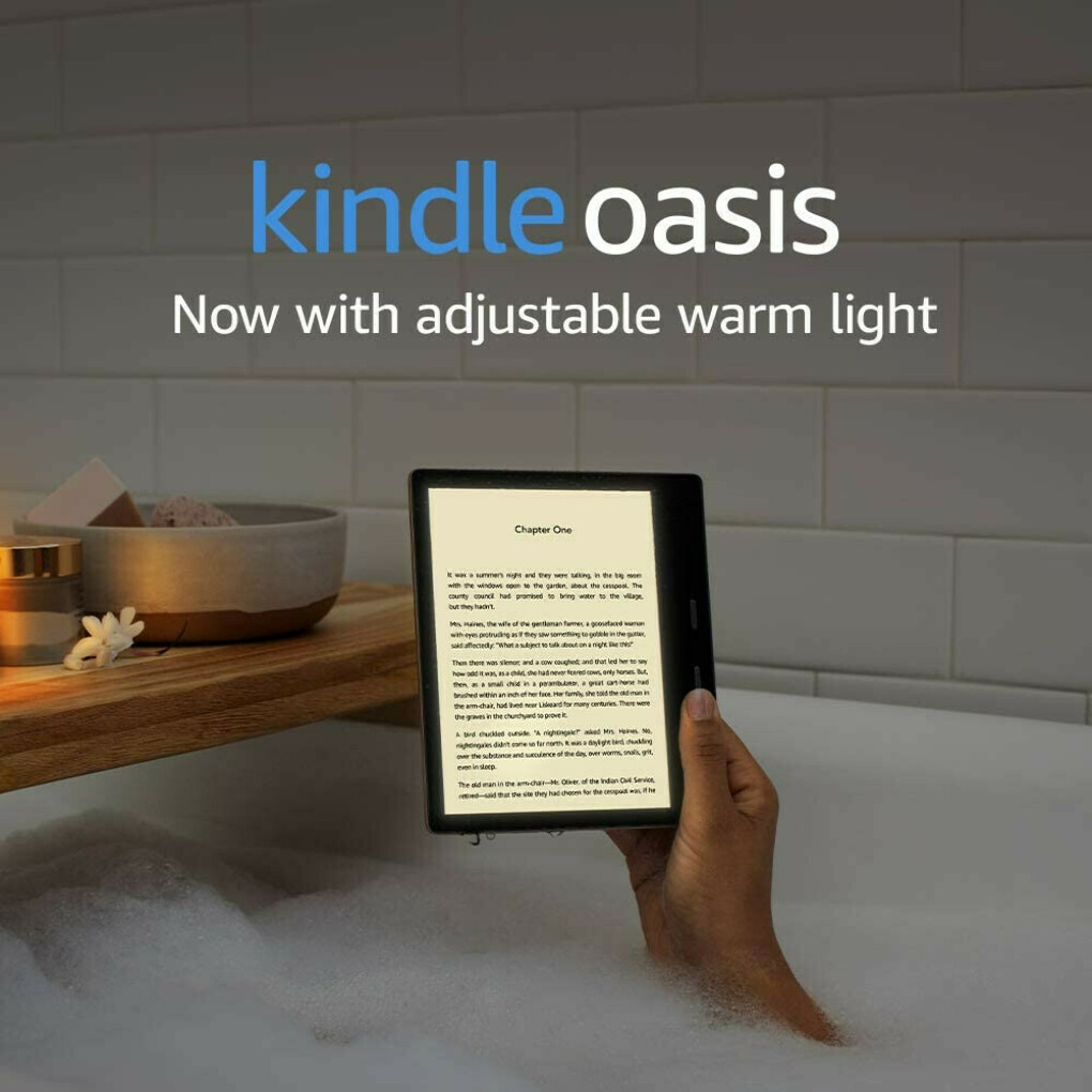 Kindle Oasis 2020 Wi-Fi + Free Cellular Connectivity, 32 GB