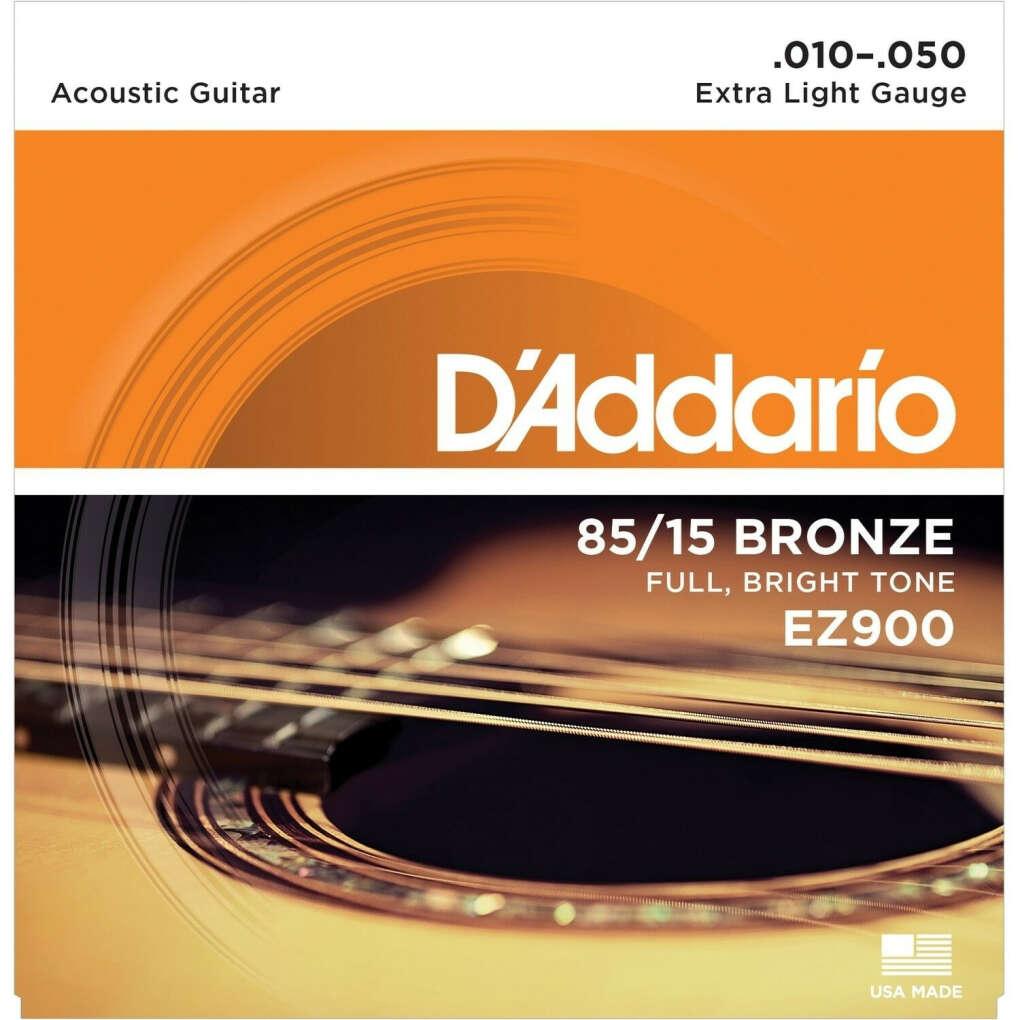Струны для акустической гитары D'Addario EZ900 10-50: купить в Минске и Беларуси | MusicMarket