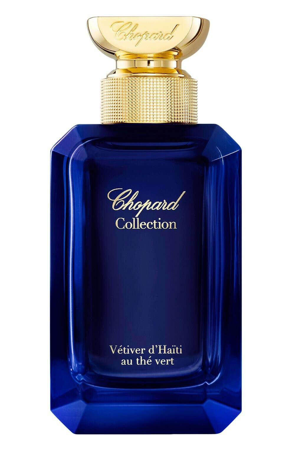 Парфюмерная вода Collection Vetiver d'Haiti au the vert CHOPARD для женщин — купить за 17760 руб. в интернет-магазине ЦУМ, арт. 7640177367426