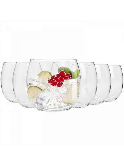 """Набор стаканов для воды Krosno """"Гармония"""" 410мл, 6 шт, Krosno"""