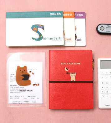 Планинг расходов Mini Cash Ver.3 - Red