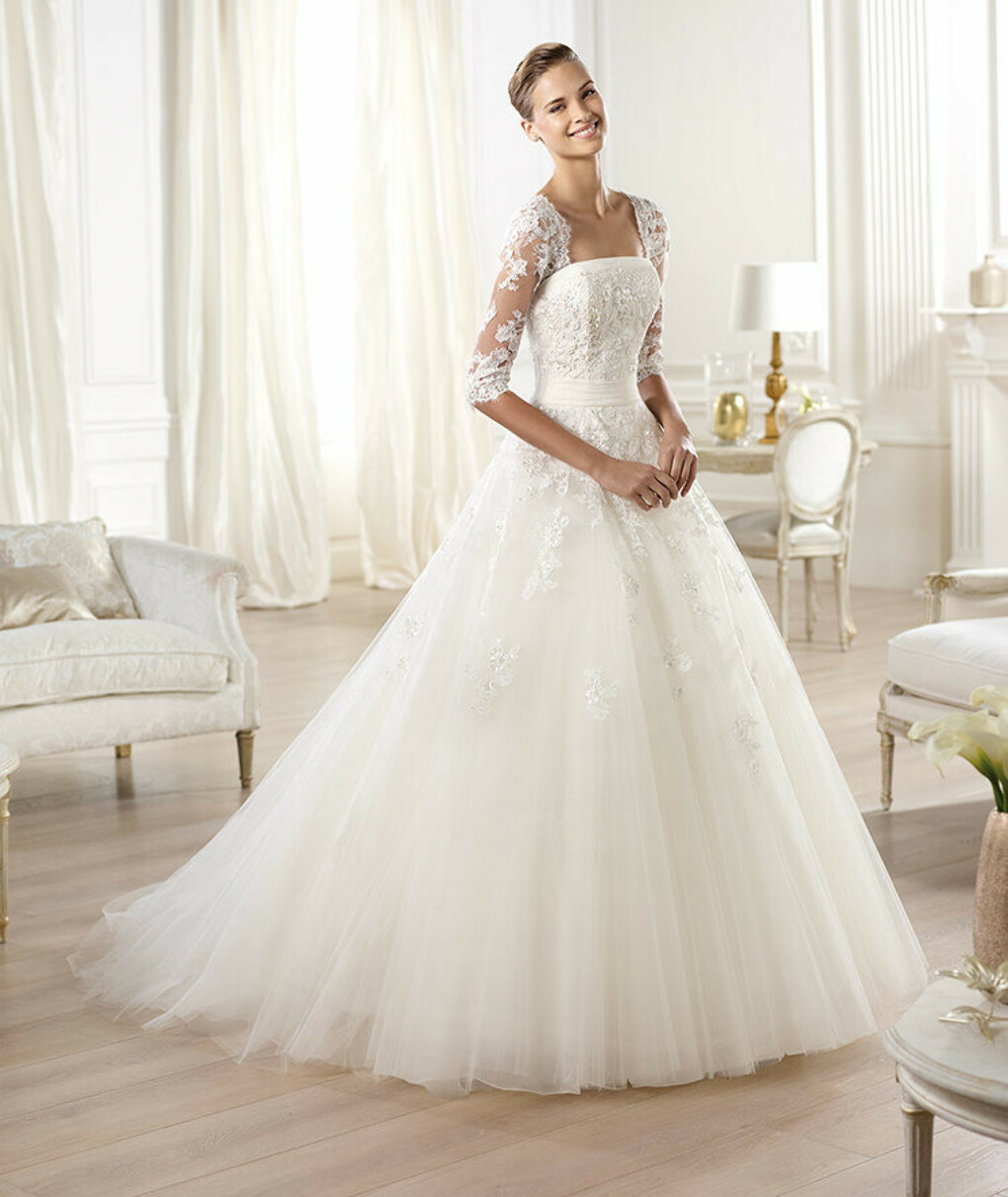 Ocanto wedding dress by Pronovias