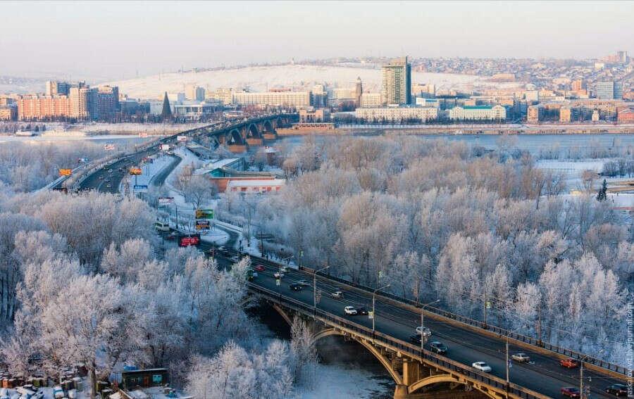Посетить Красноярск