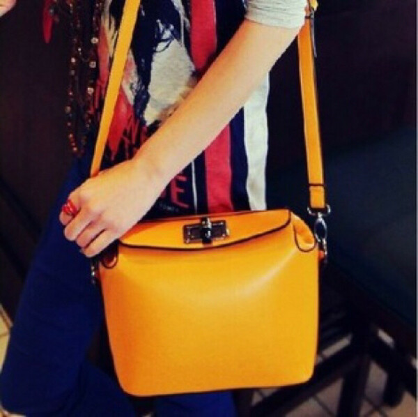 Женская сумочка сумки конфеты цвет сумка с оранжевой сумка YWJR1205, принадлежащий категории перемётные сумки и относящийся к Багаж и сумки на сайте AliExpress.com   Alibaba Group