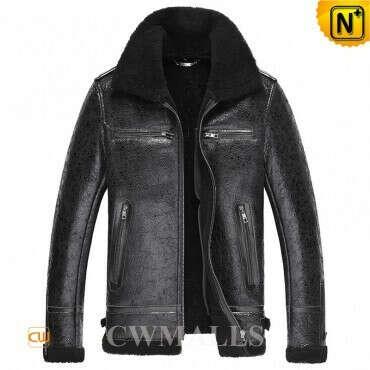 CWMALLS® Houston Custom Men Sheepskin Jacket CW861254