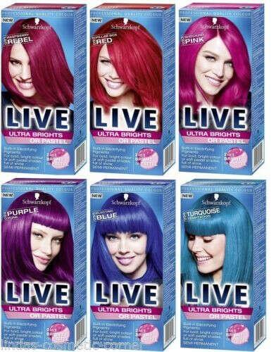 Краска для волос Schwarzkopf Live Color XXL Ultra Brights