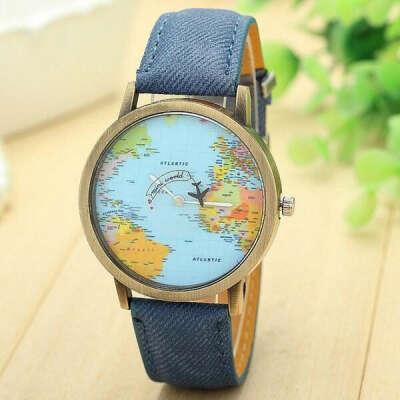 **HOT** Globetrotter World Traveler Watch