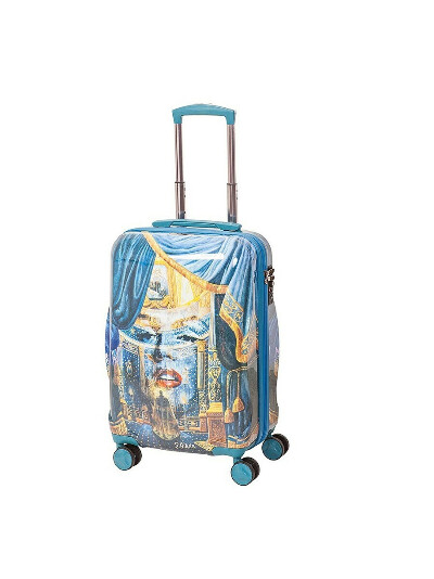 Чемодан на 4х колесах, серия Nikas Monro, 42 л, с телескопической ручкой, Sun Voyage