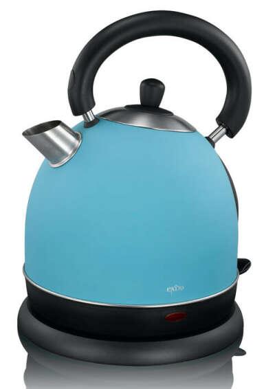 Klicken, um das Bild zu vergrößern Ähnlichen Artikel verkaufen? Selbst verkaufen Details zu  British Style Edelstahl-Wasserkocher blau 2000 Watt 1,8 Liter Exido kettle