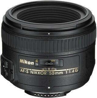 Объектив Nikon 50 mm f/1.4G AF-S Nikkor
