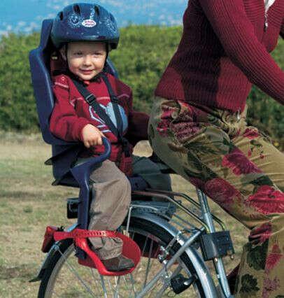 Велокресло детское на подседельную трубу