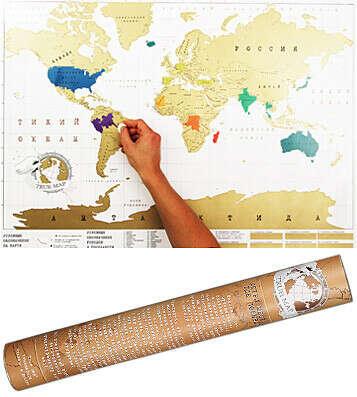 Карта Мира True-Map Ver.2