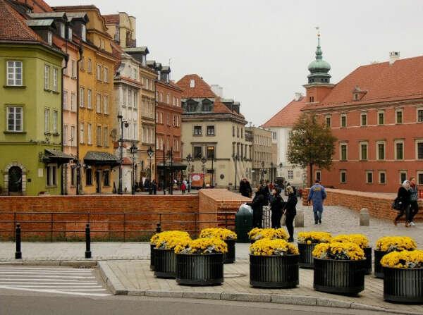 Каникулы в Варшаве