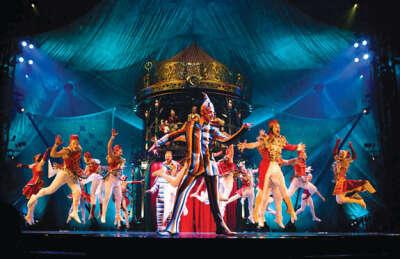 Побывать на шоу Cirque du Soleil