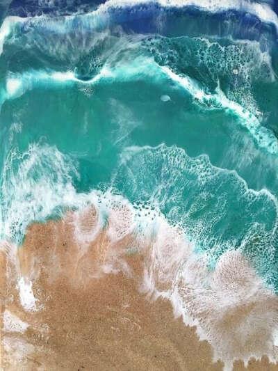 Набор для творчества эпоксидная смола (море)