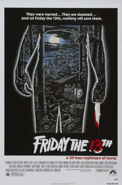 Постер «Пятница 13-ое»