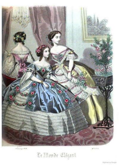 Новое платье 1860-х годов