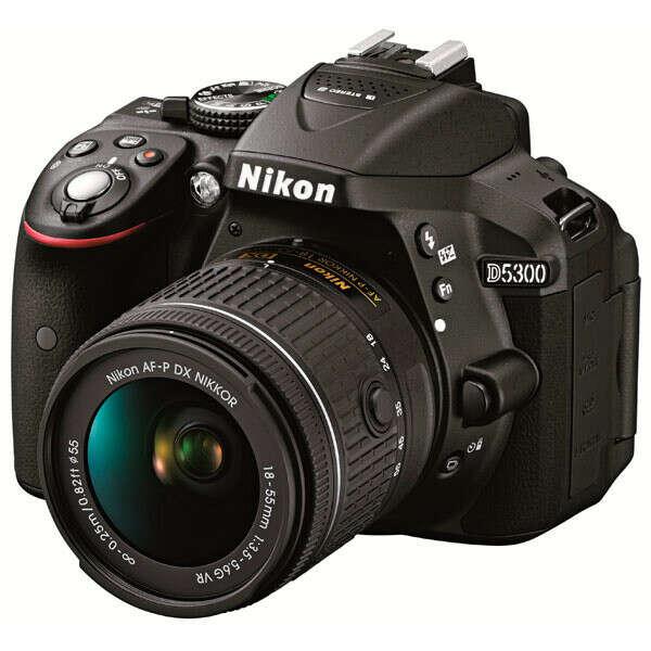 Фотоаппарат зеркальный Nikon D5300 Kit 18-55 VR AF-P Black