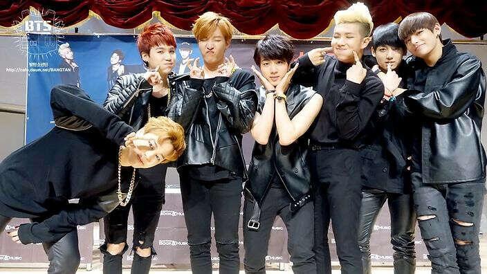 На концерт BTS.