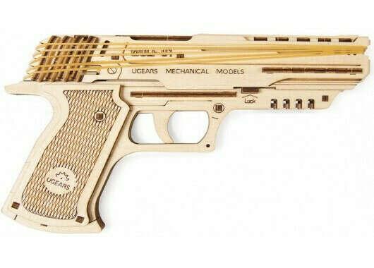 Деревянный пистолет Вольф-01