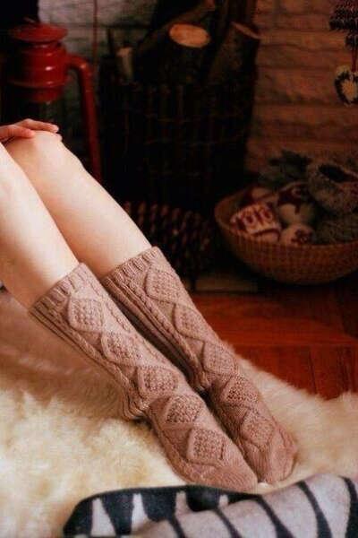Носки красивой вязки