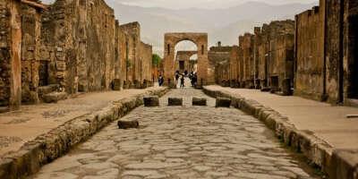 Поездка на развалины Помпеи