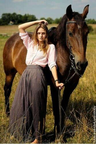 фотосессию на лошадях