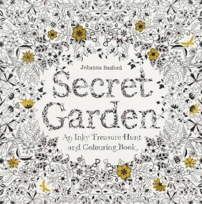 "Джоанна Басфорд ""Секретный сад"""