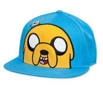 Adventure Time Jake Blue Snapback Cap