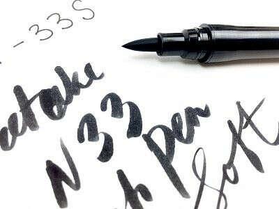 Ручка-кисть (Brush Pen) для леттеринга