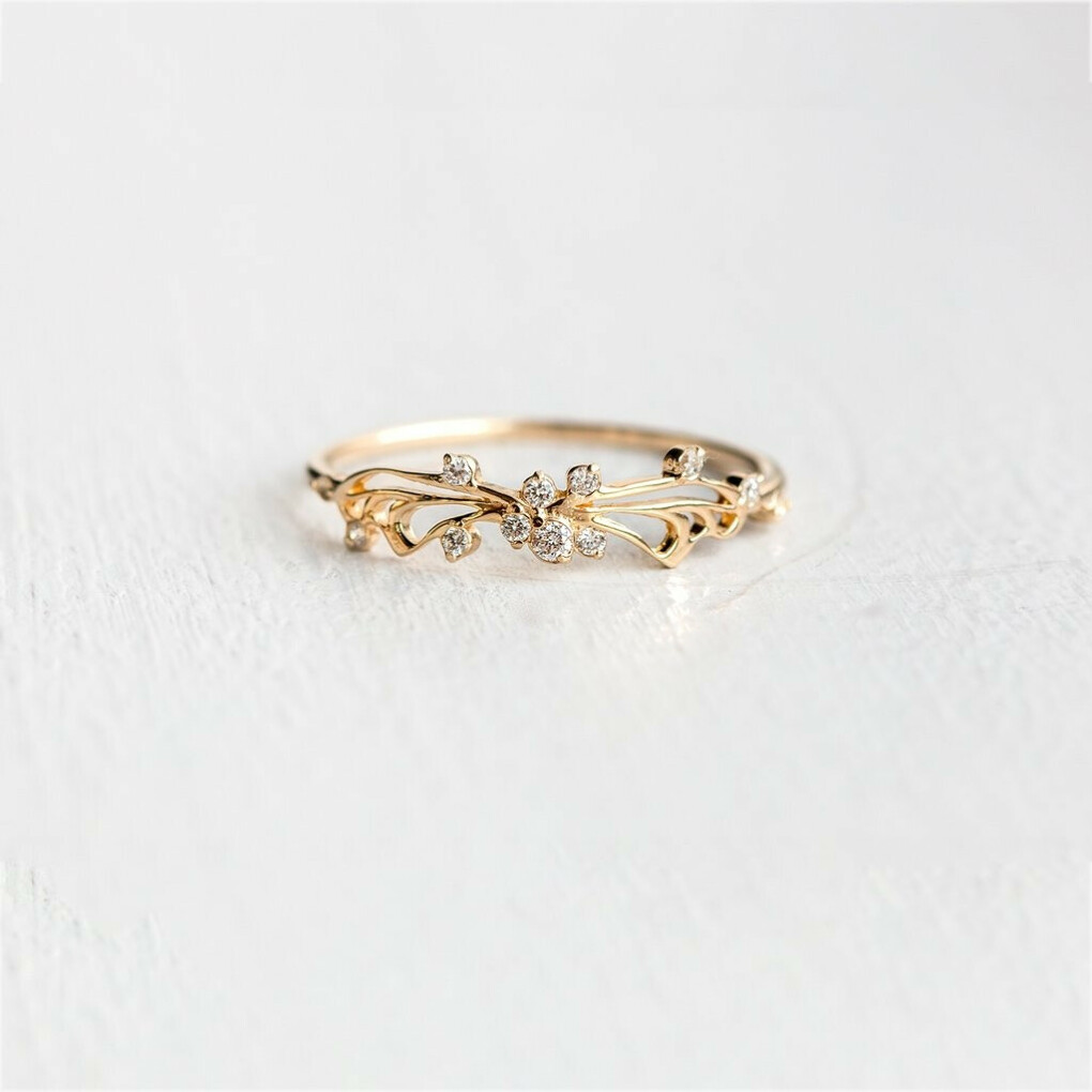 Diamond Small Changes Ring