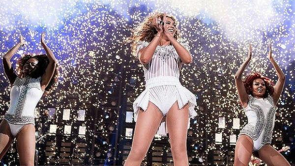 Концерт Beyonce