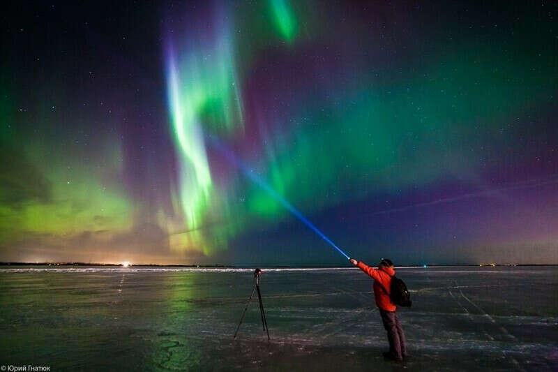 Увидеть северное сияние и сделать фото