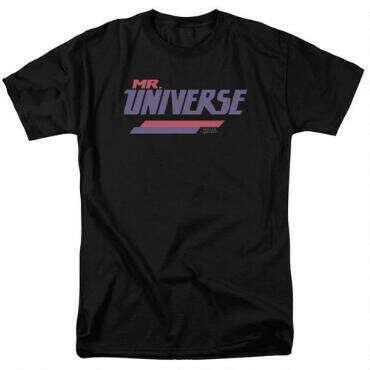 Steven Universe Mr. Universe Adult Black T-Shirt |